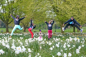 Africa Day - Kids Jumping in the Air